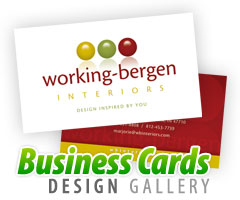 VisualRush Business Card Designs