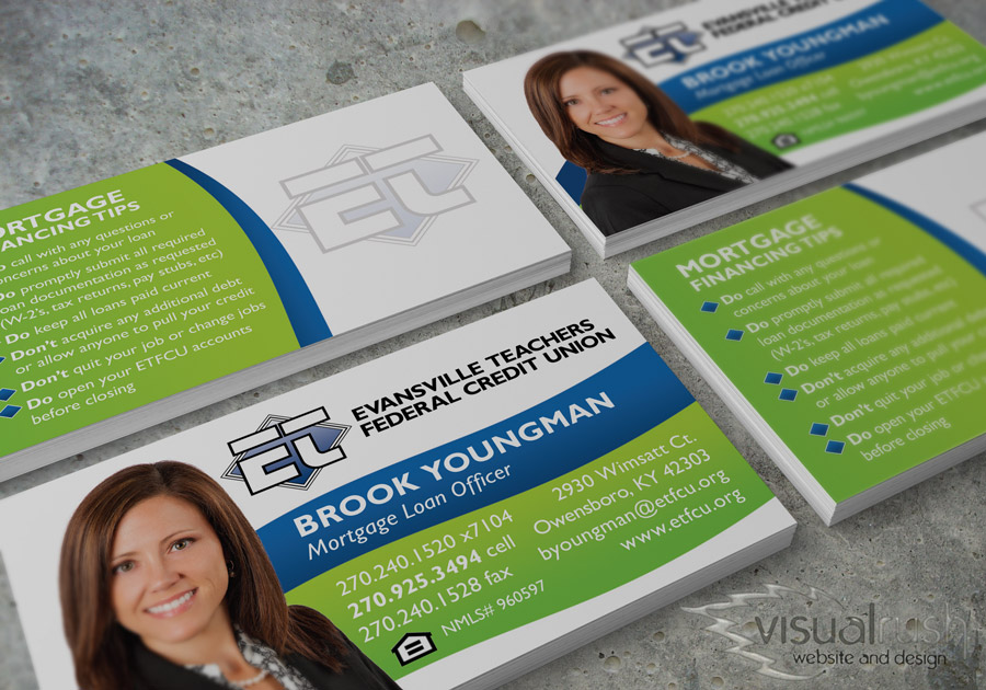 Custom Business Cards - Visualrush