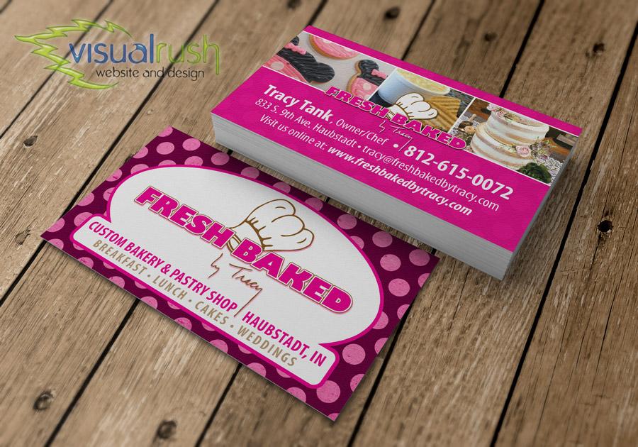 Custom Business Cards Visualrush