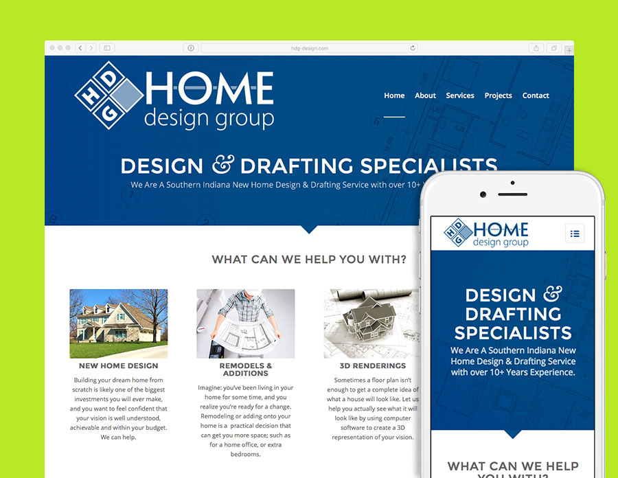 Home design group website visualrush for Home plan websites