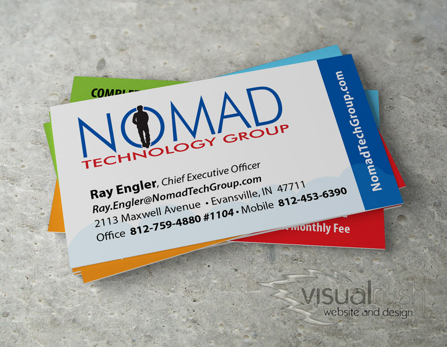 Custom Business Cards - Visualrush