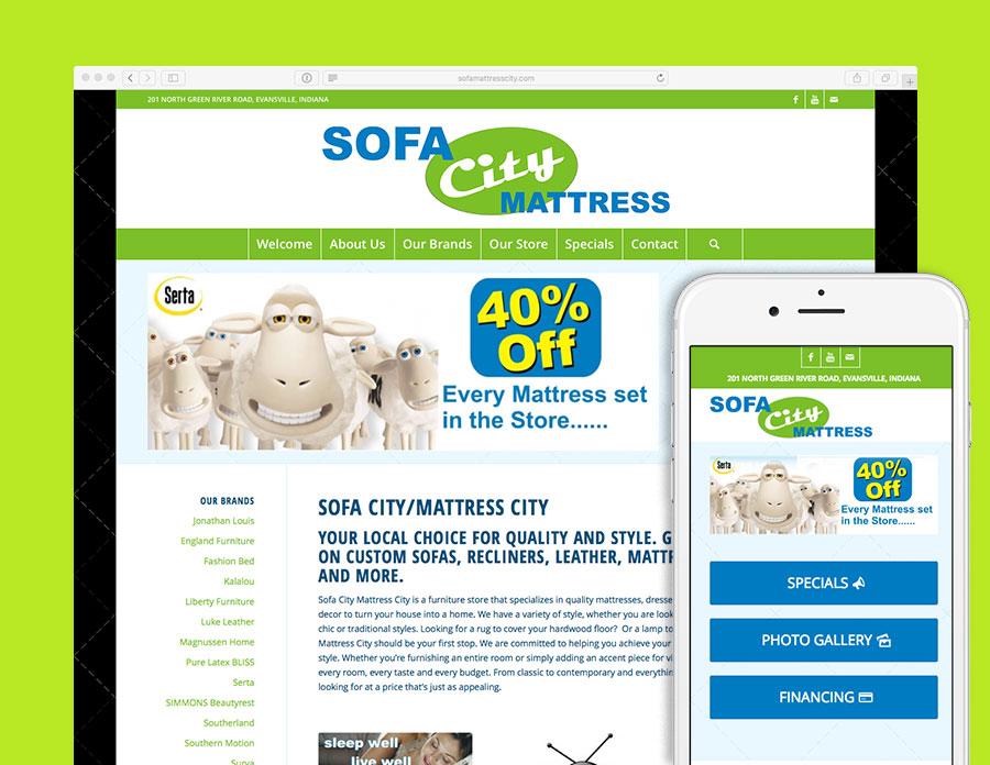 Sofa City Mattress City Website   Visualrush
