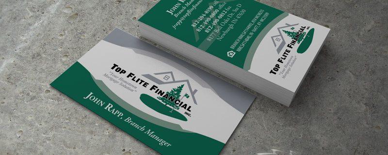 Top flite financial business cards visualrush colourmoves